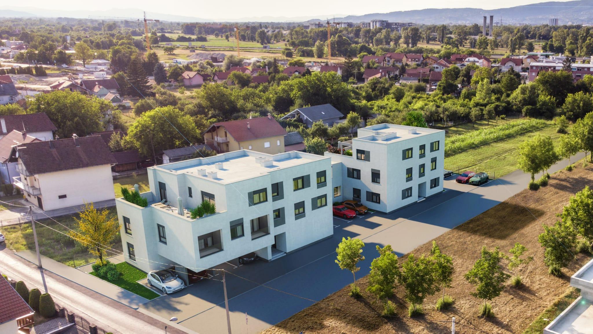 Nova stambena zgrada u Zdihovskoj ulici u Blatu
